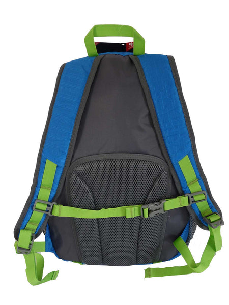 Hi High Viz Vis Backpack RL47LB Light Blue rear View