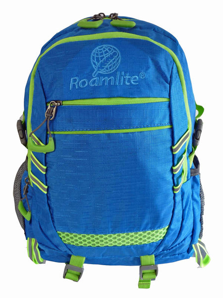 Hi High Viz Vis Backpack RL47LB Light Blue Front View
