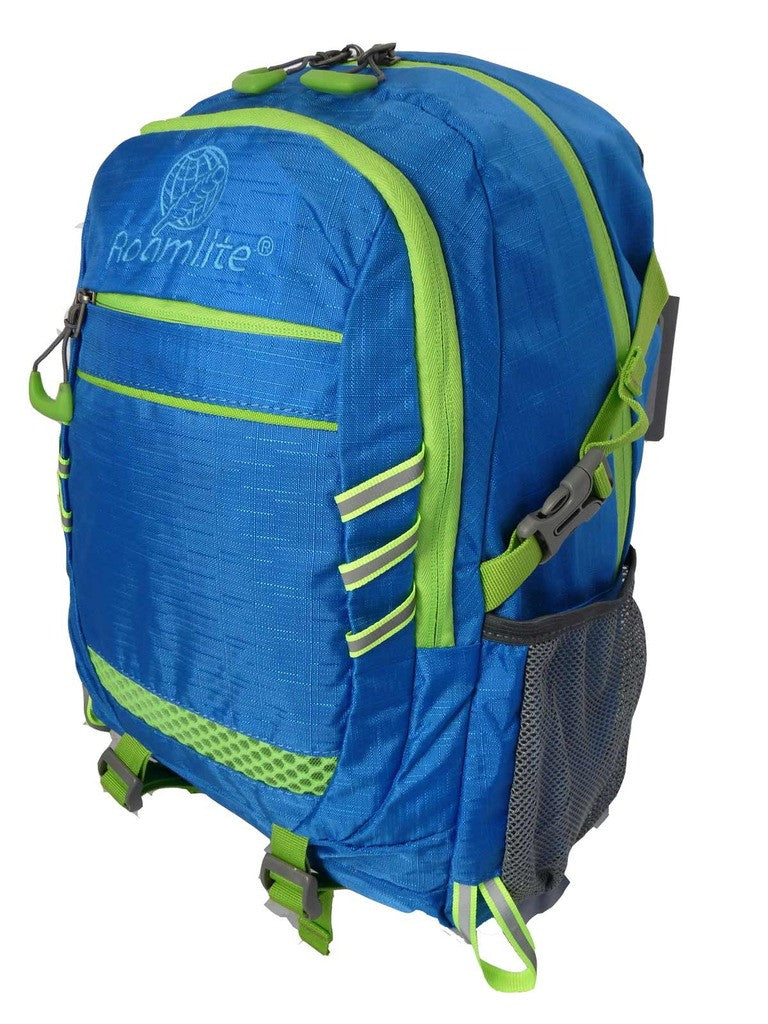 Hi High Viz Vis Backpack RL47LB Light Blue L Side View