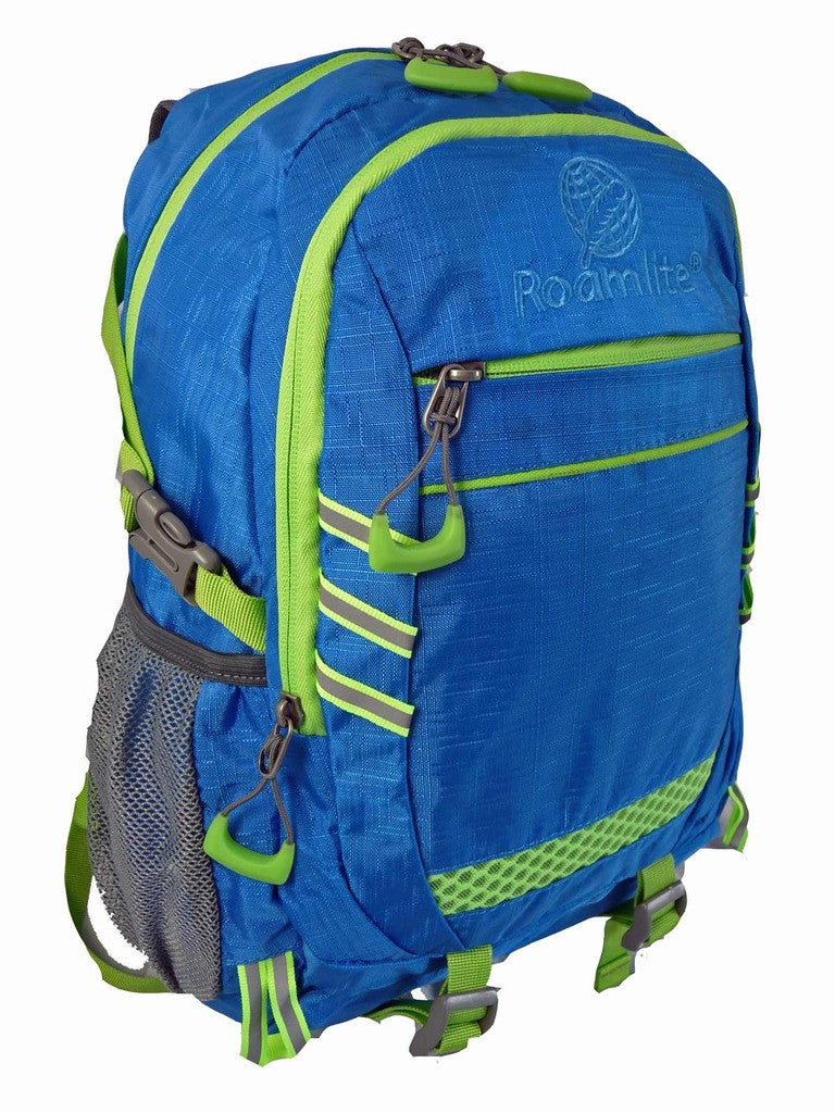 Hi High Viz Vis Backpack RL47LB Light Blue Side View