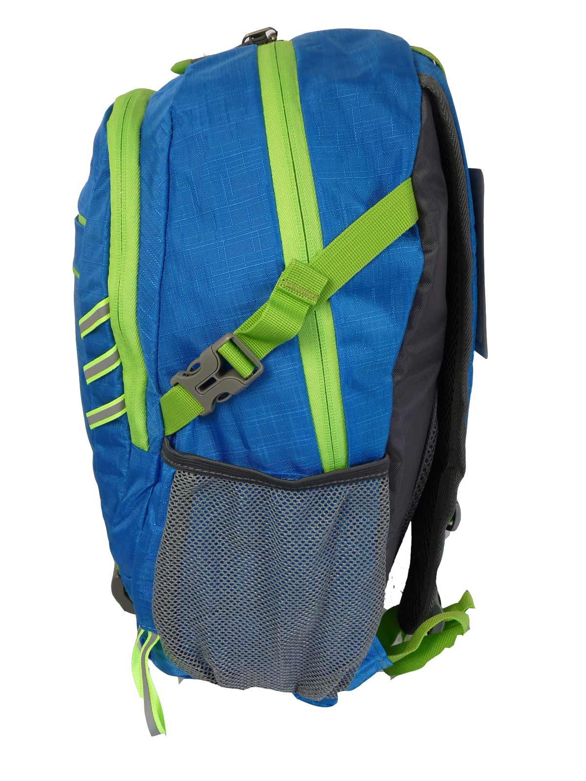 Hi High Viz Vis Backpack RL47LB Light Blue Side Side View