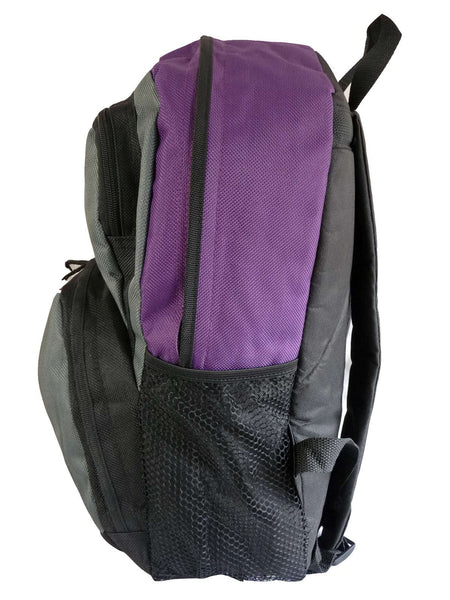 Kids School Backpack Bag RL28 Purple S Side View