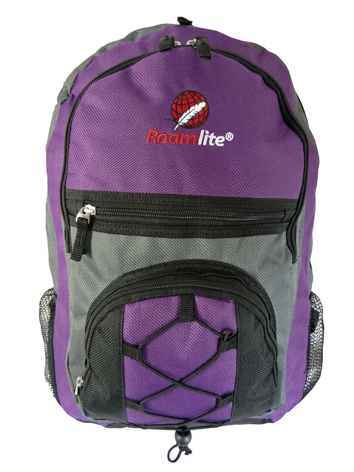 Kids School Bags RL37M Purple Front View