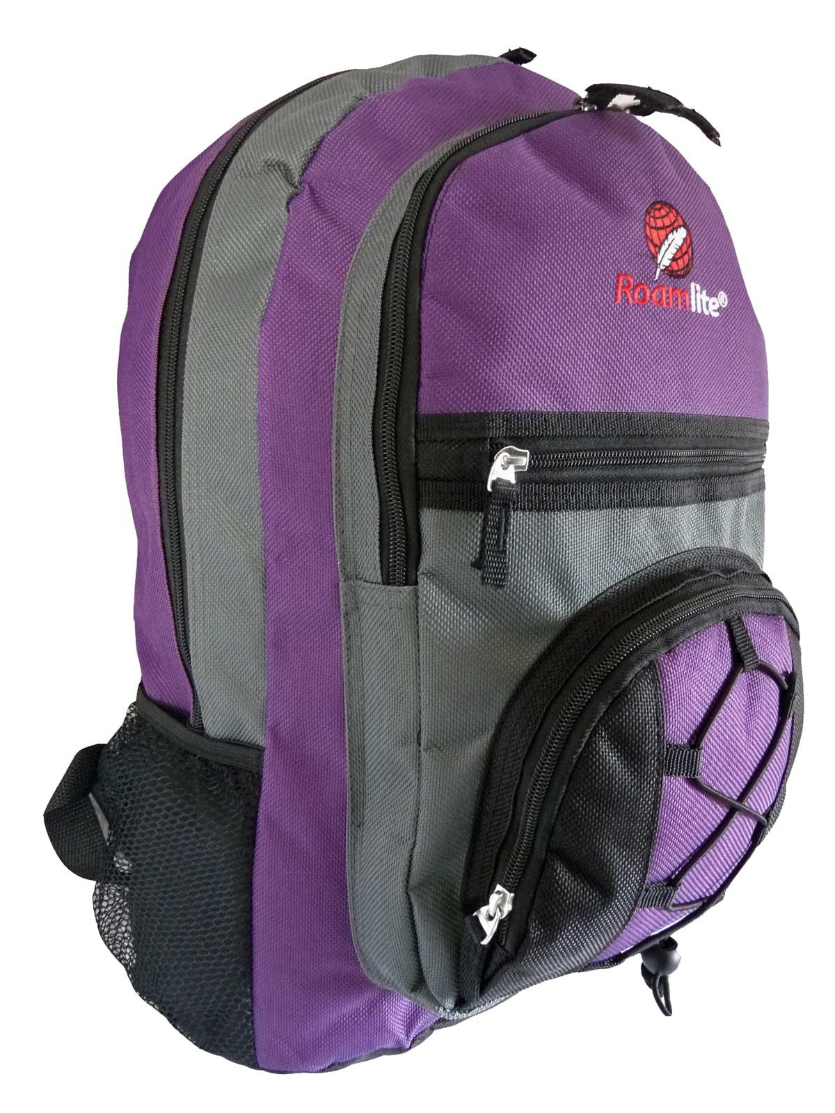 Kids School Bags RL37M Purple R Side View