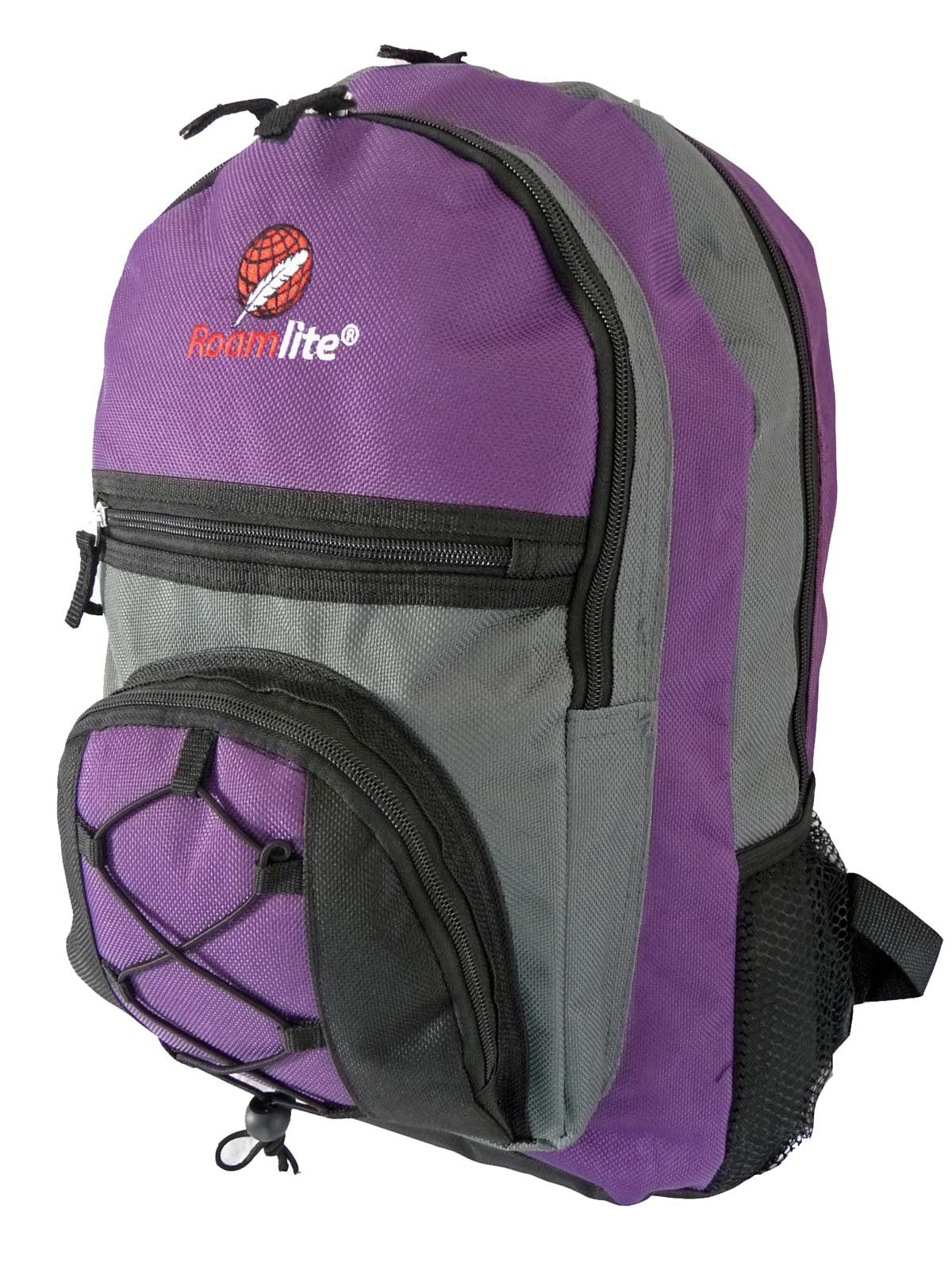 Kids School Bags RL37M Purple Side View