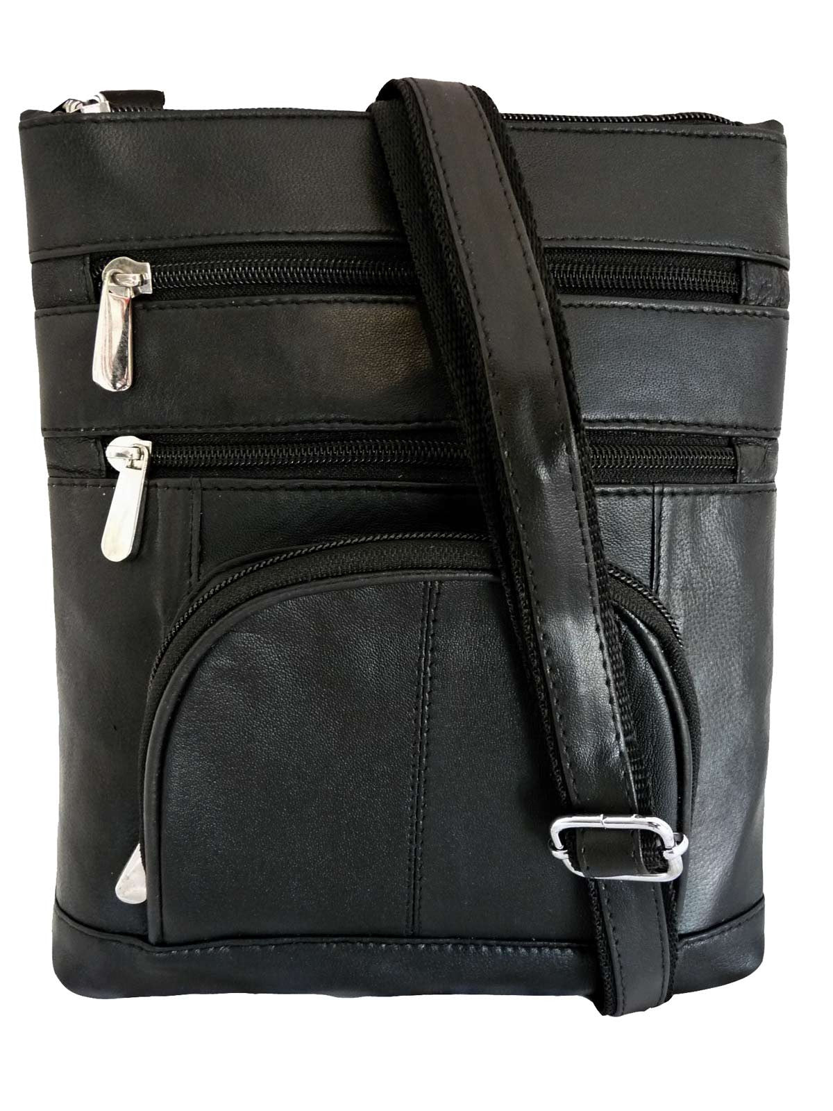 Mans leather shoulder bag RL177Kf