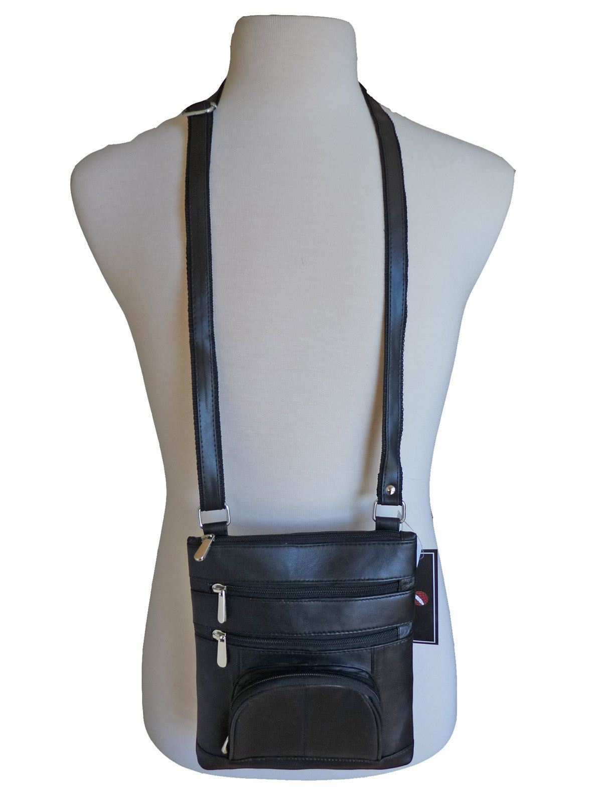 Mans leather shoulder bag RL177Km2