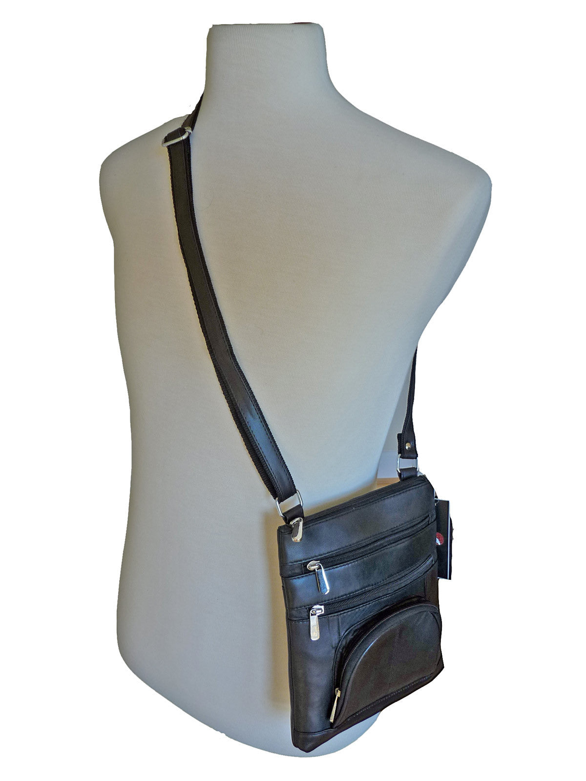 Mans leather shoulder bag RL177Km