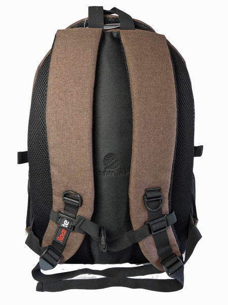 Laptop Macbook Backpack Rucksack Bag RL43B Rear View