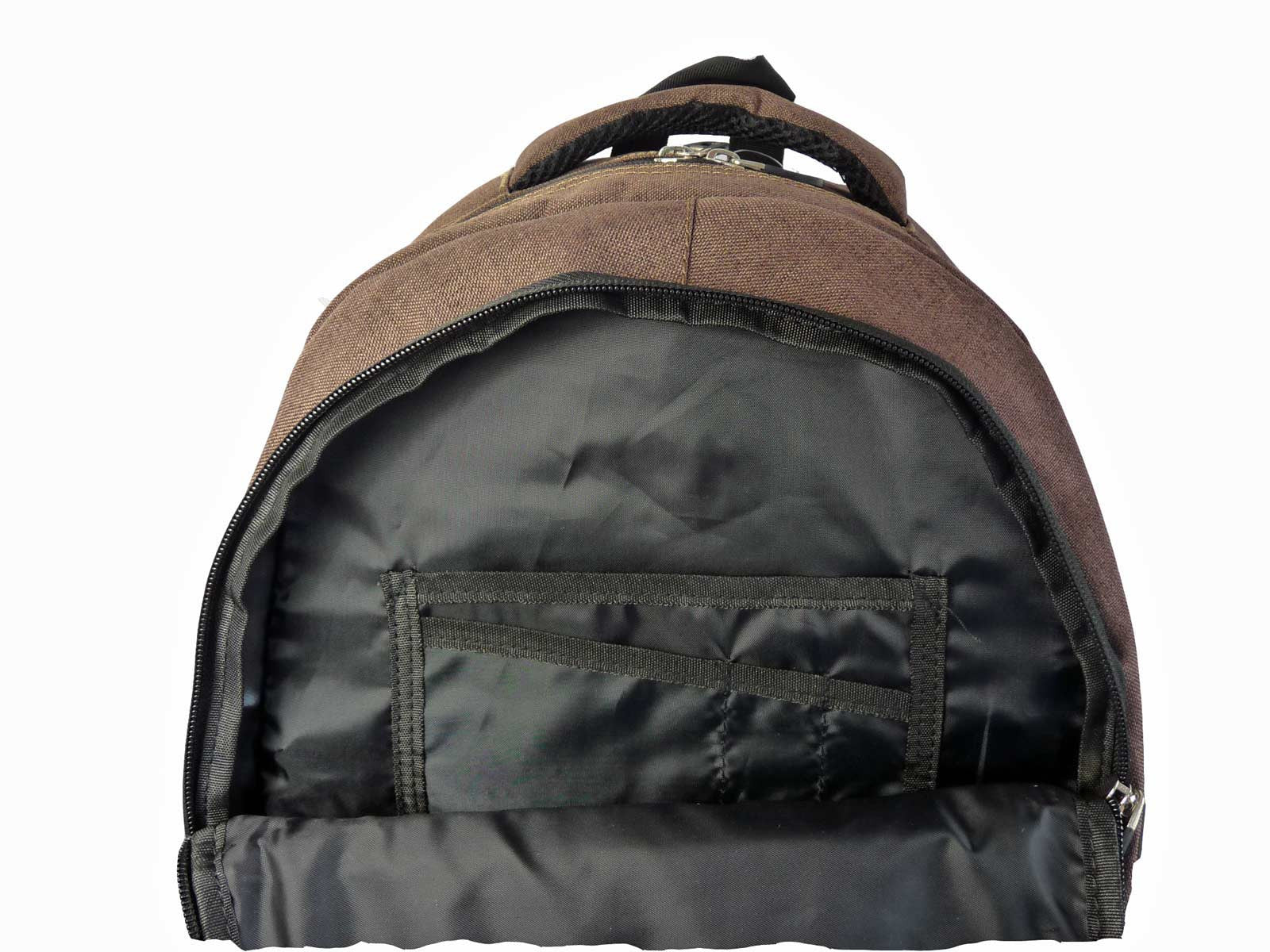 Laptop Macbook Backpack Rucksack Bag RL43B Inside View