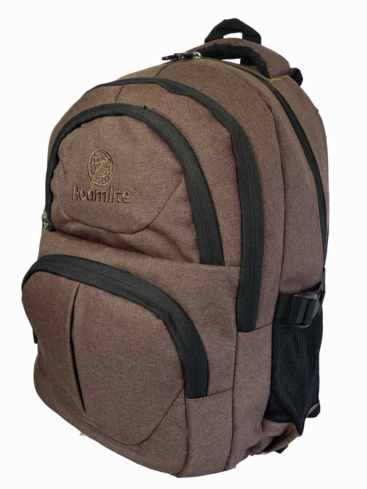 Laptop Macbook Backpack Rucksack Bag RL43B Side View