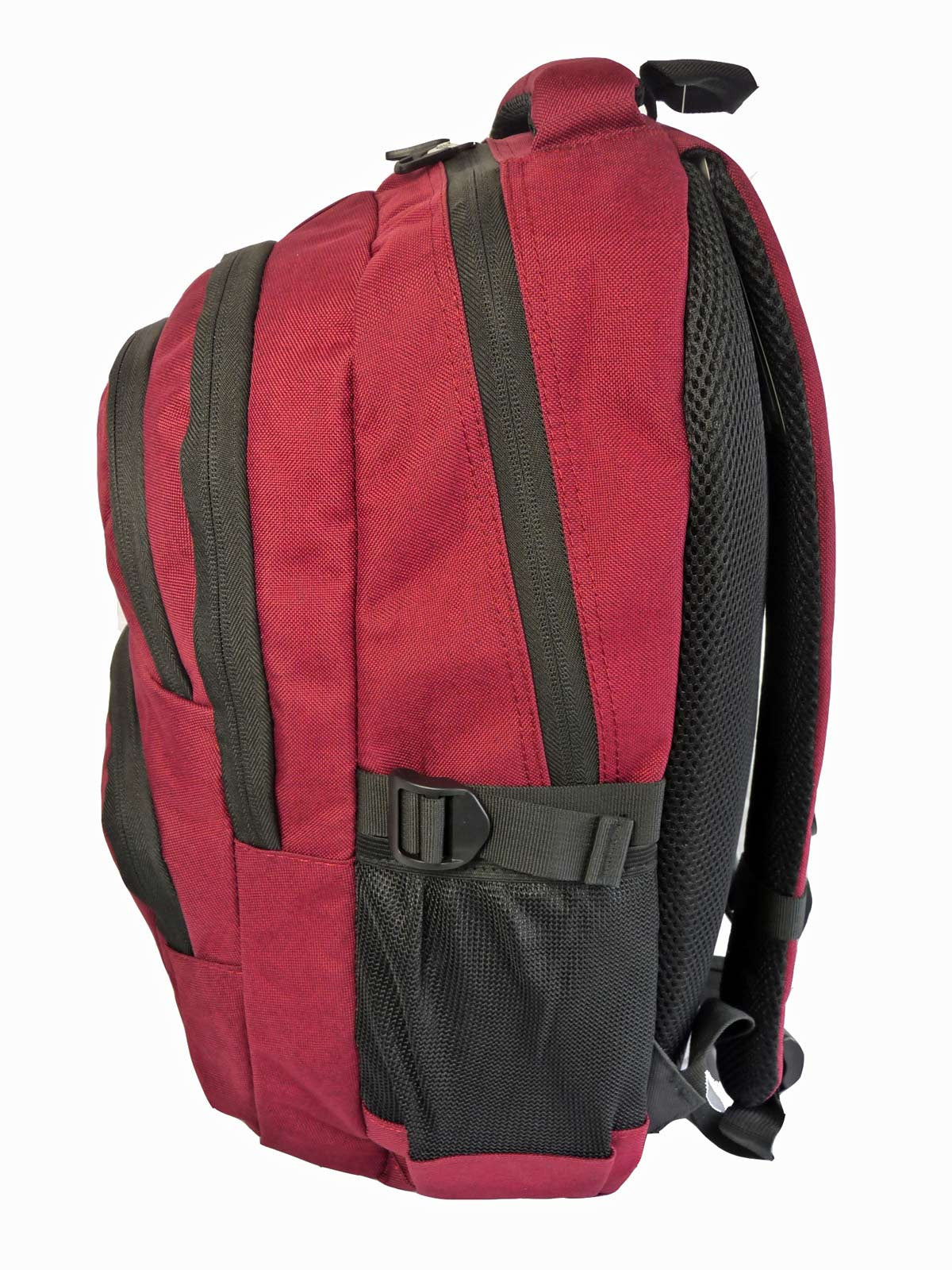 Laptop Macbook Backpack Rucksack Bag RL43Bu S Side View