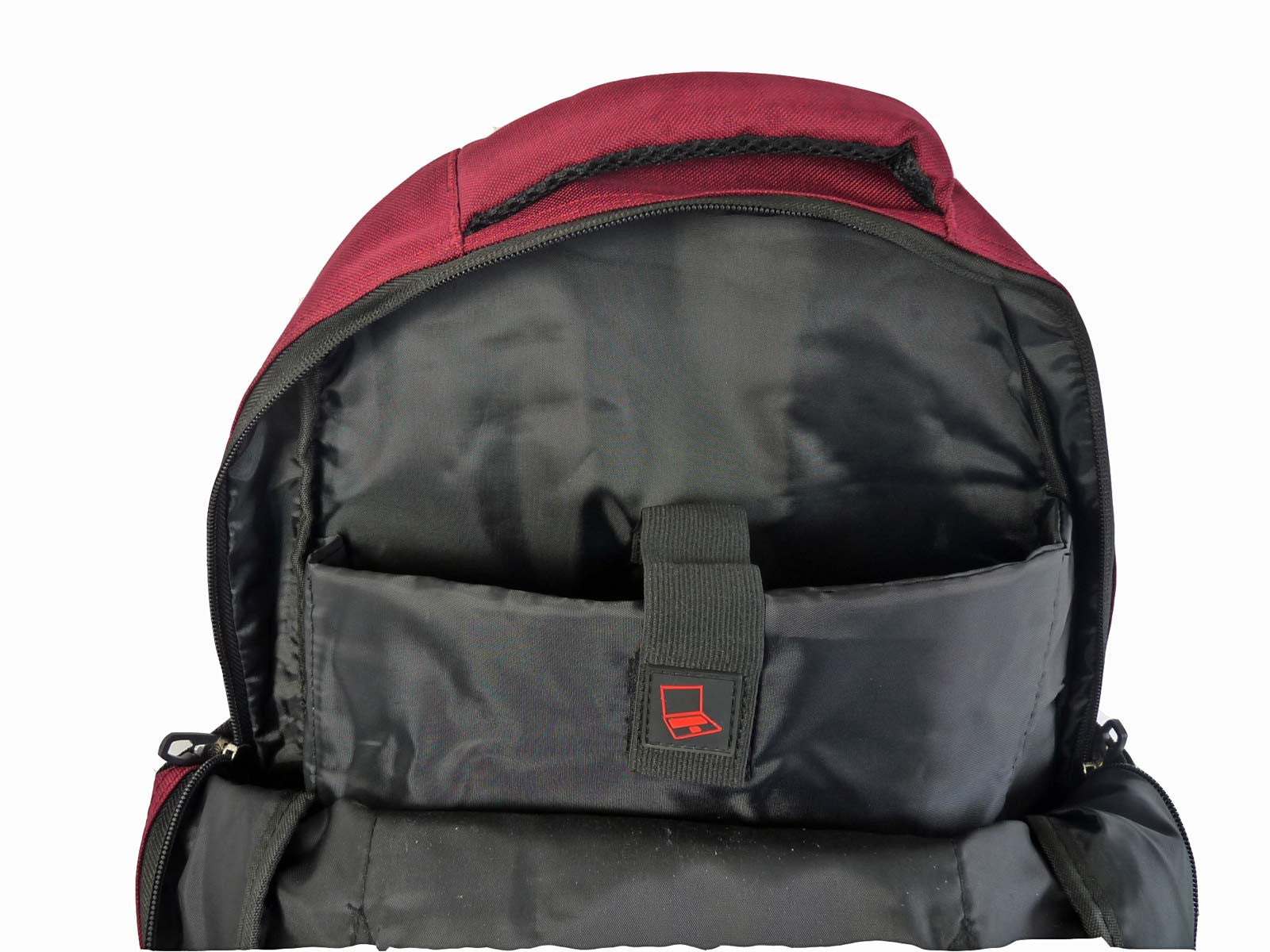 Laptop Macbook Backpack Rucksack Bag RL43Bu Inside View