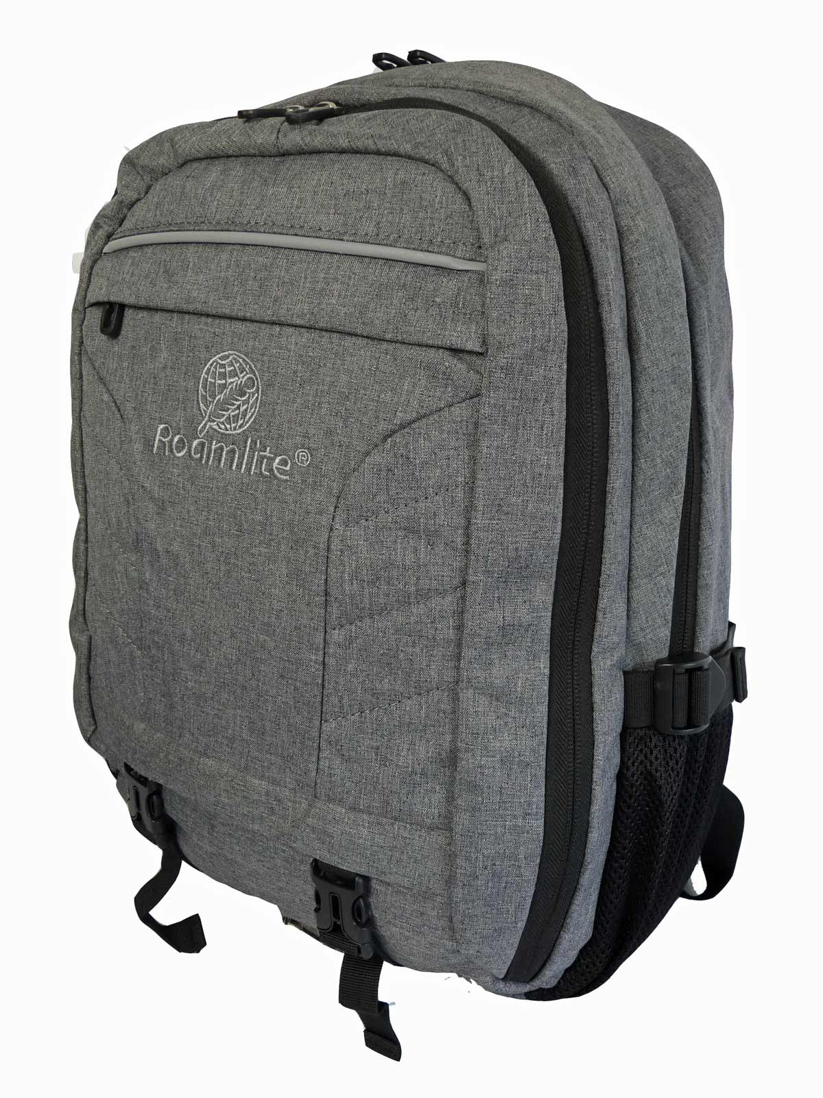 Laptop Macbook Backpack Rucksack Bag RL45GY R Side View