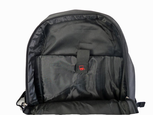 Laptop Macbook Backpack Rucksack Bag RL45K Inside View