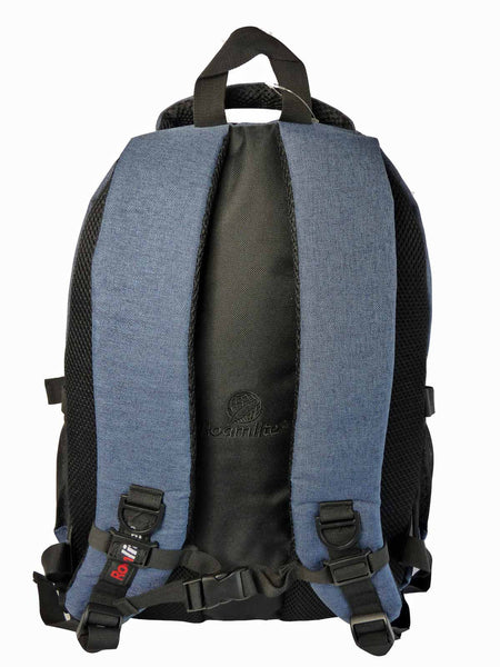 Laptop Macbook Backpack Rucksack Bag RL43N Rear View