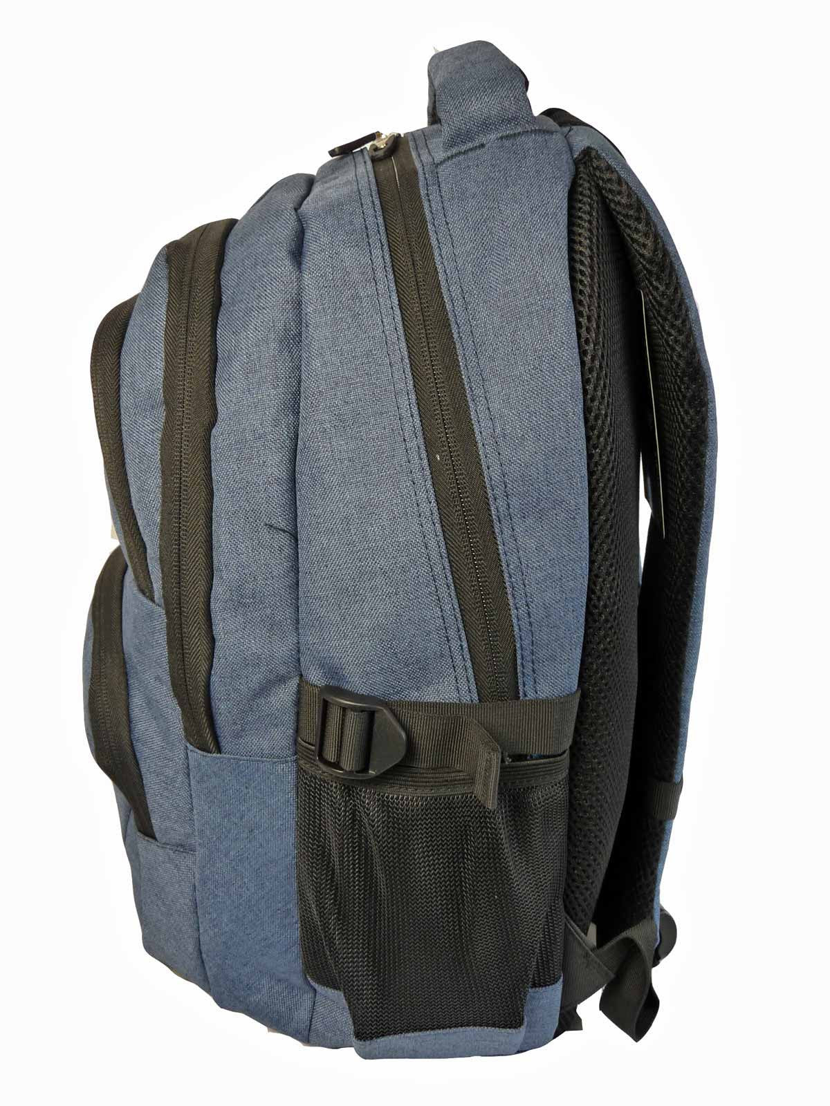 Laptop Macbook Backpack Rucksack Bag RL43N S Side View