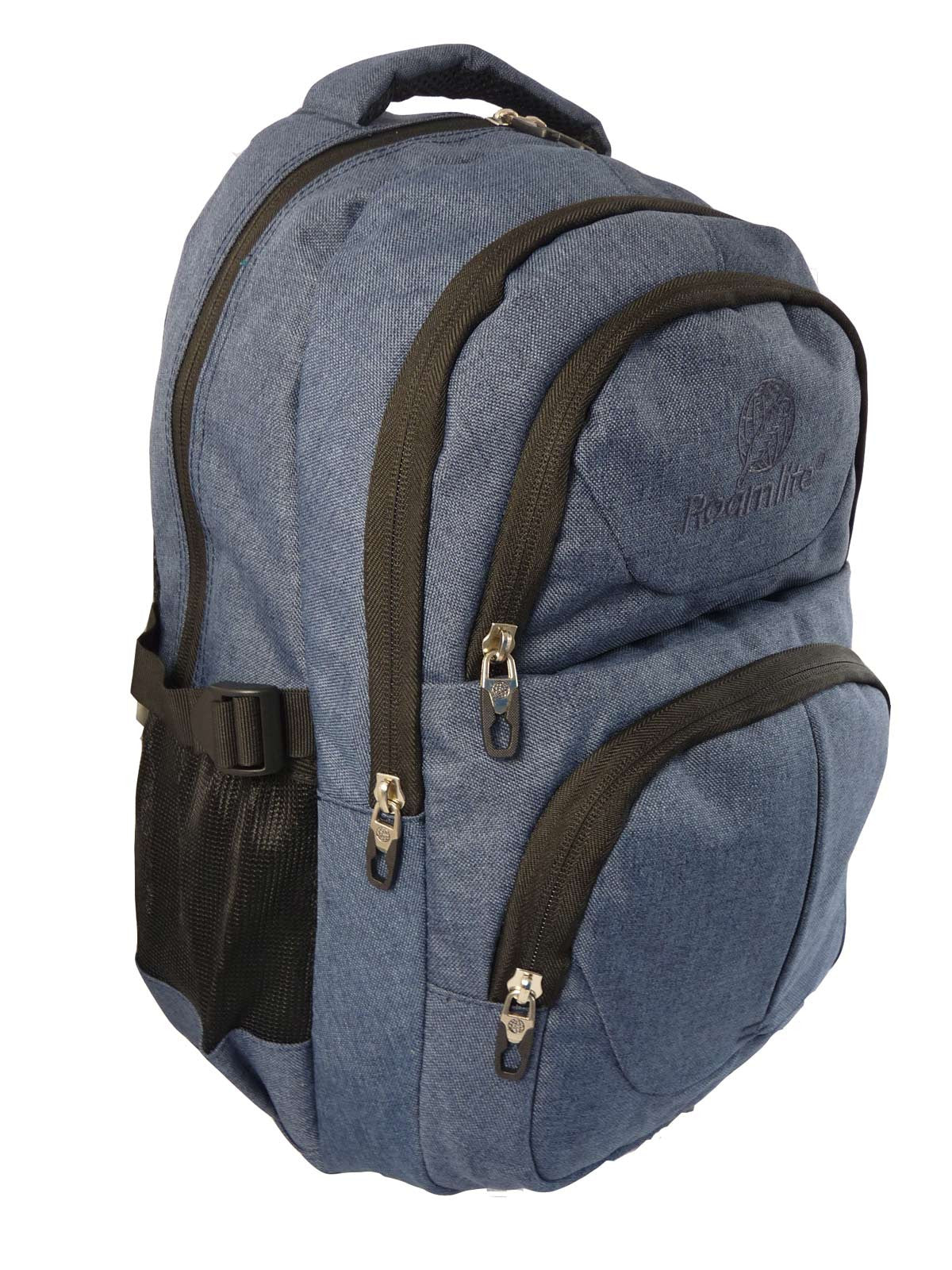 Laptop Macbook Backpack Rucksack Bag RL43N Side S View