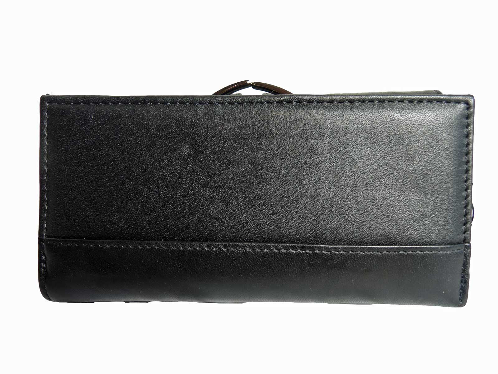Large Leather Purse QL230 Rear View