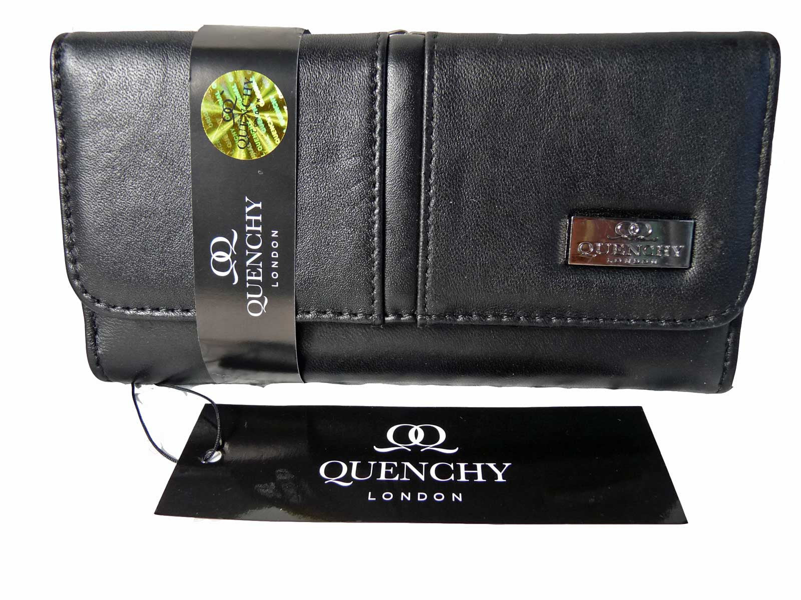 Large Leather Purse QL230 Front View