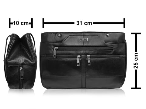 Real Leather Handbag QL172S