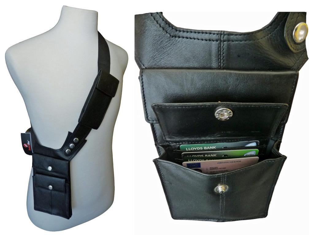 Shoulder Under Arm Holster Travel Bag Black RL705