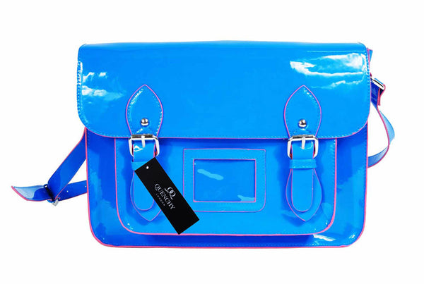School Satchel Pu Leather QL525B front view