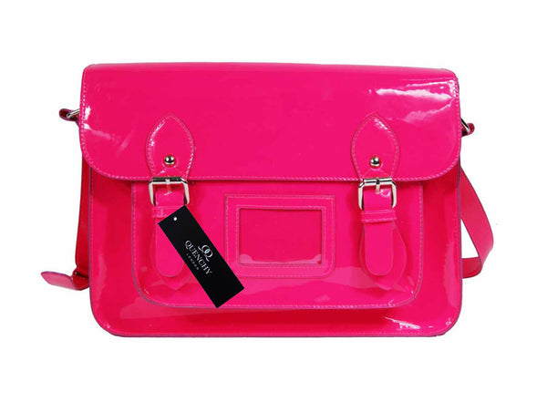 School Satchel Pu Leather QL525P front view