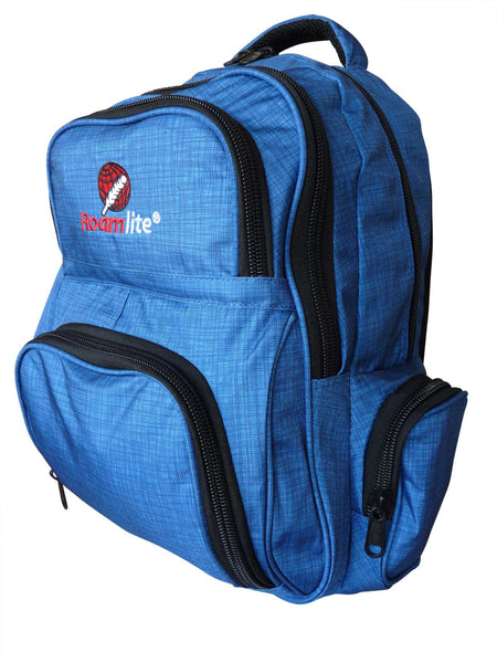 School Backpacks Bags RL88S Navy Blue Circuit