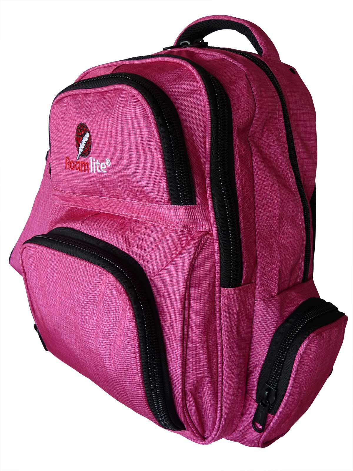 School Backpacks Bags RL88S Pink Circuit