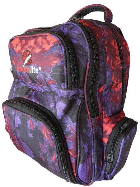 School Backpacks Bags RL88S Purple Oil
