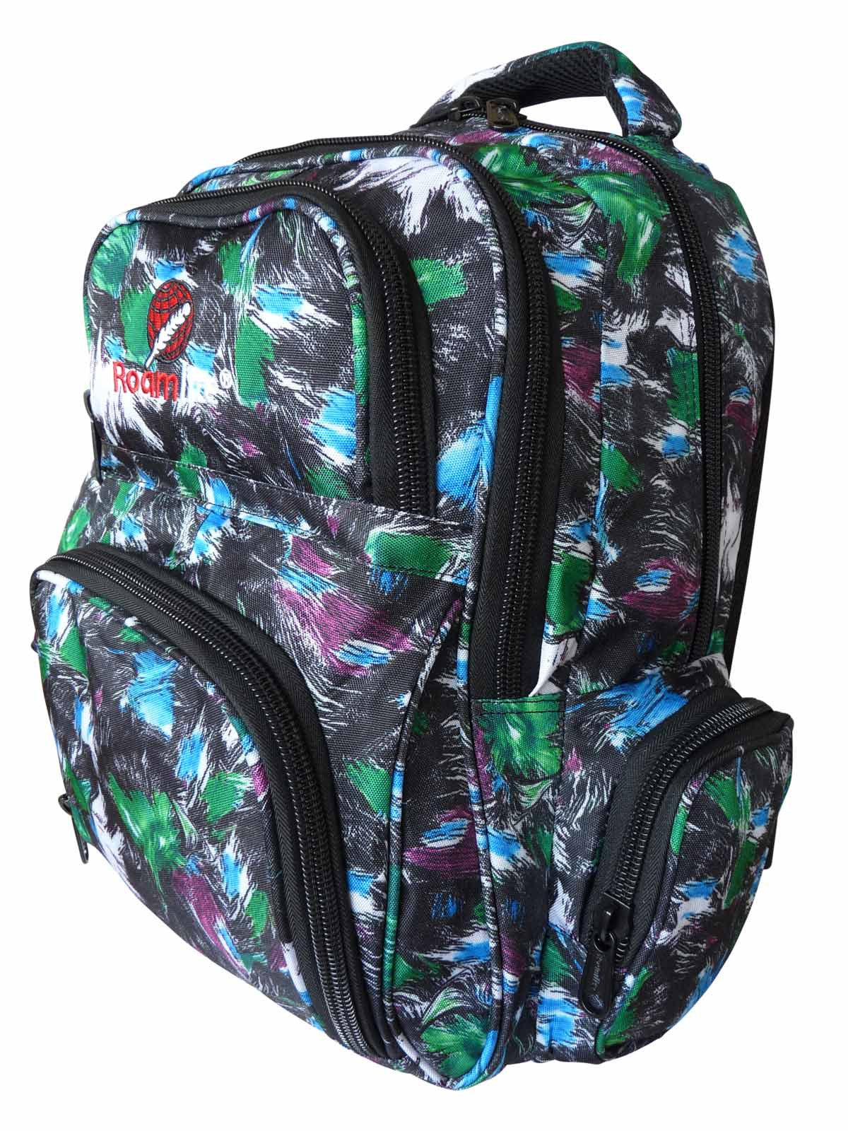 School Backpacks Bags RL88S Green Paint