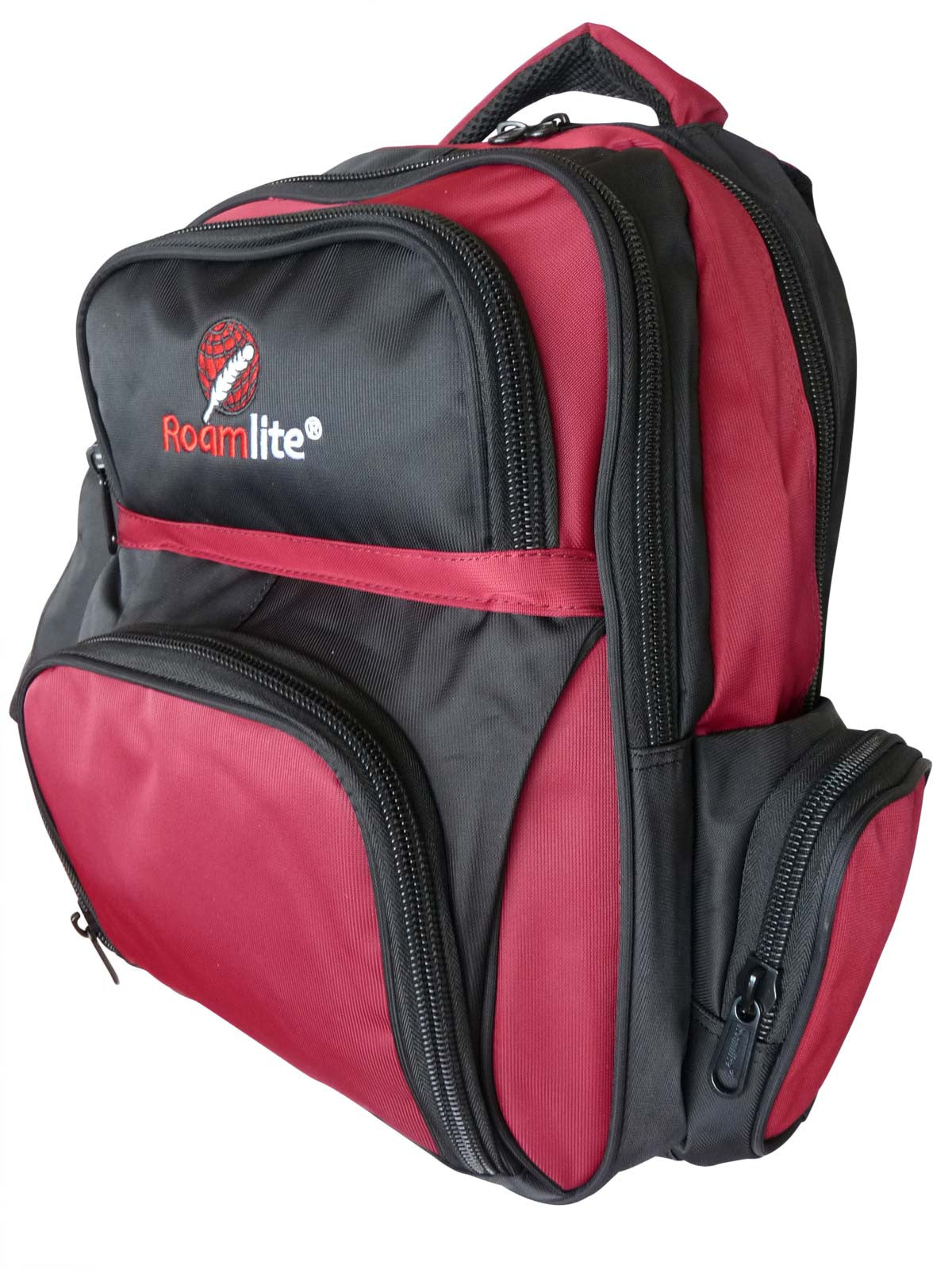 School Backpacks Bags RL88S Black Red