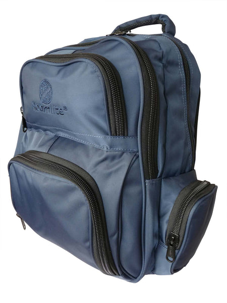 School Backpacks Bags RL88S Navy Plain Logo
