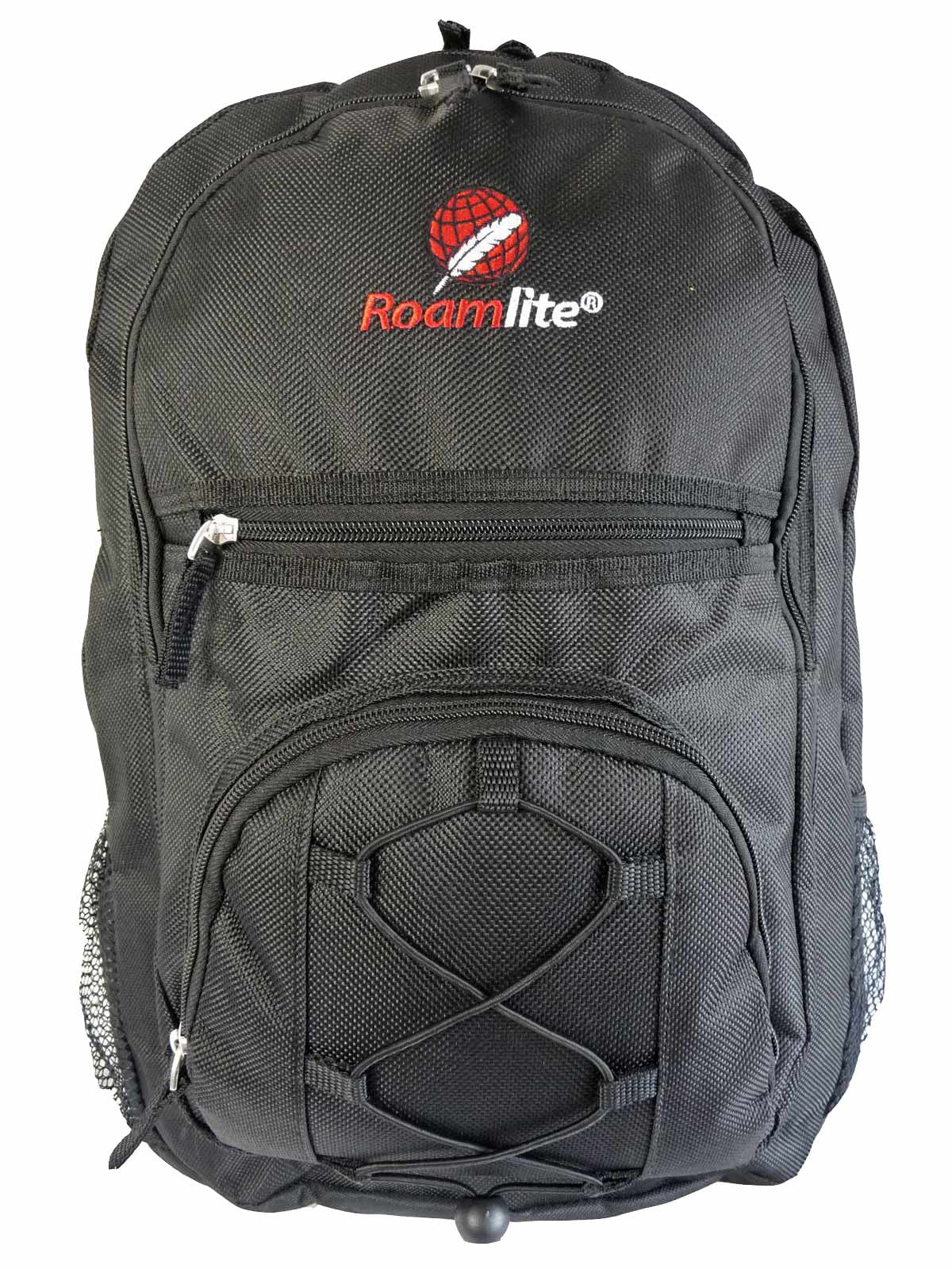 Kids School Bags RL37M Black Front View