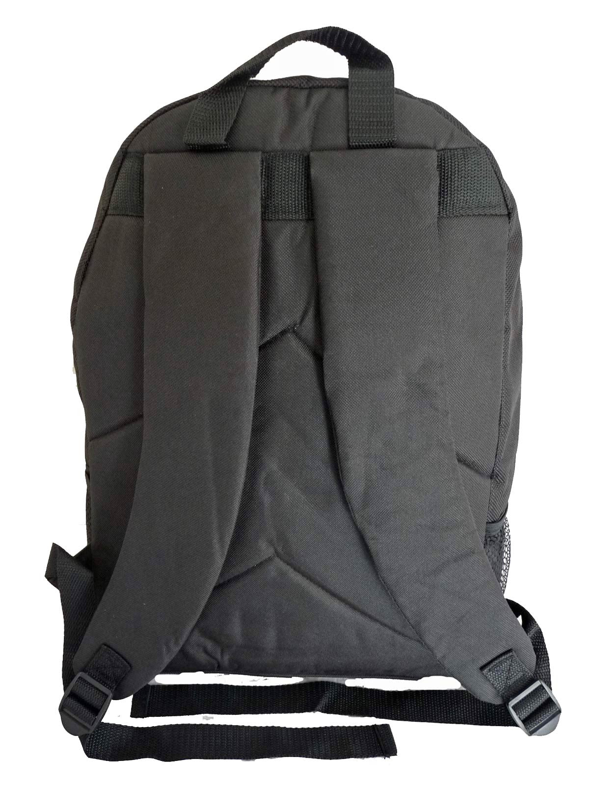 Kids School Bags RL37M Black Back View