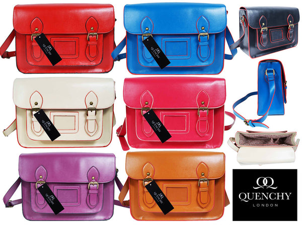 Leather Satchel Cross Body QL525M