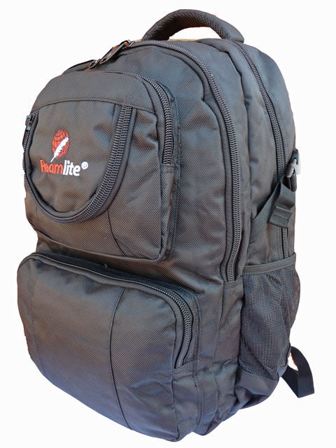 Laptop MacBook Backpack Bag RL13 Black Side View