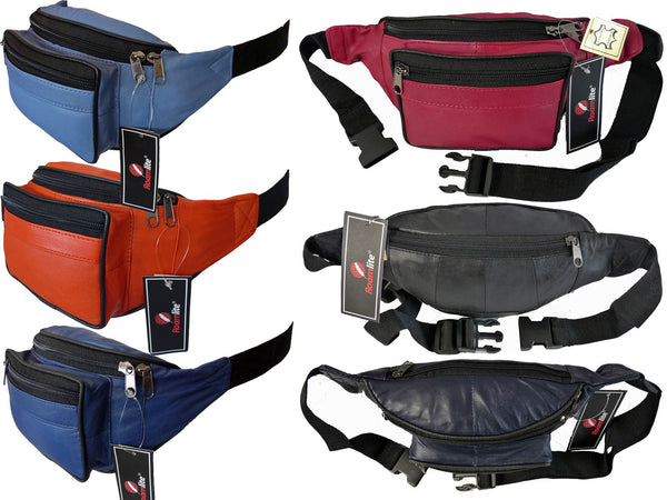 Leather Bumbag RL700M Multi View