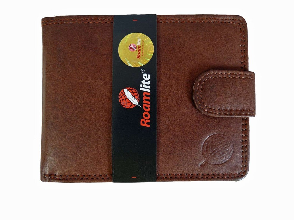 Gents Slimfold Jeans Wallets Roamlite RL410AWLB front view