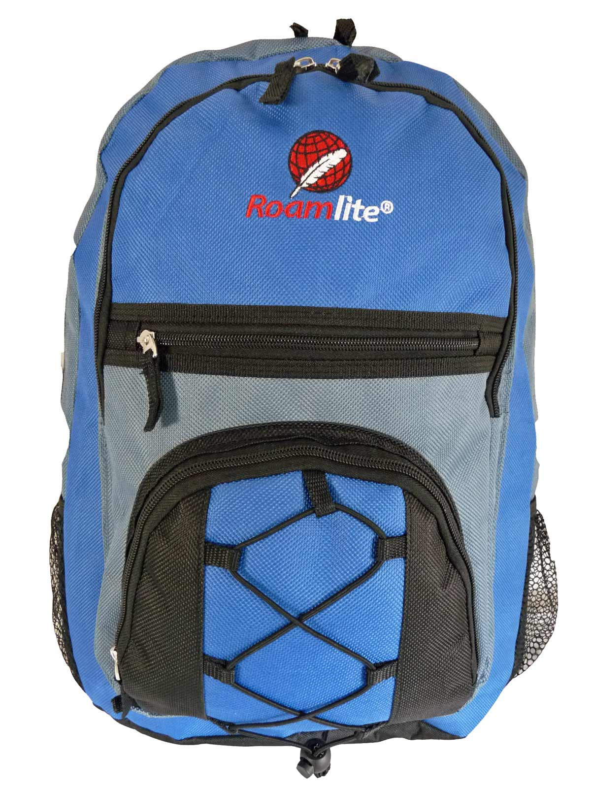 Kids School Bags RL37M Light Blue Front View