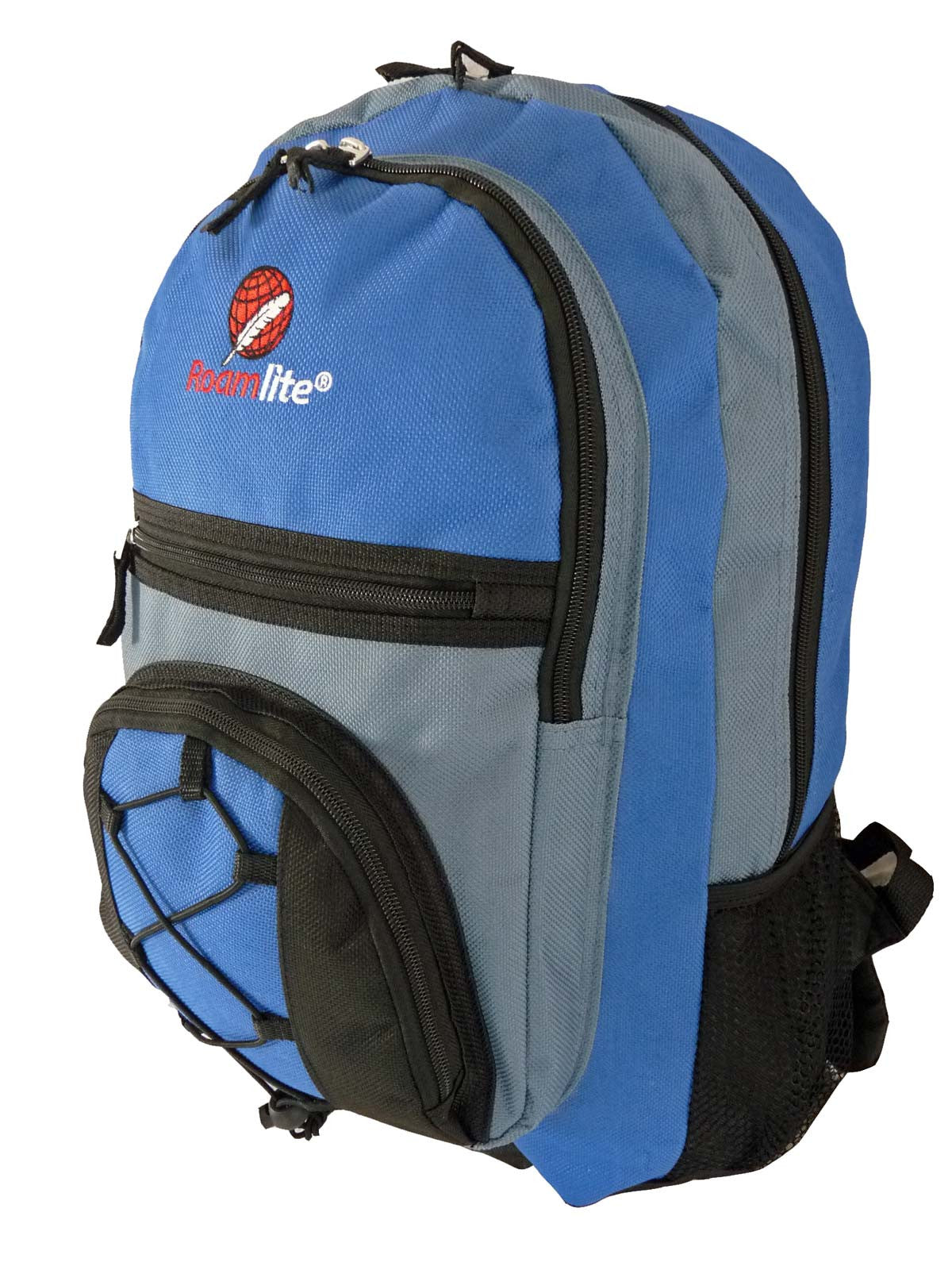 Kids School Bags RL37M Light Blue Side View