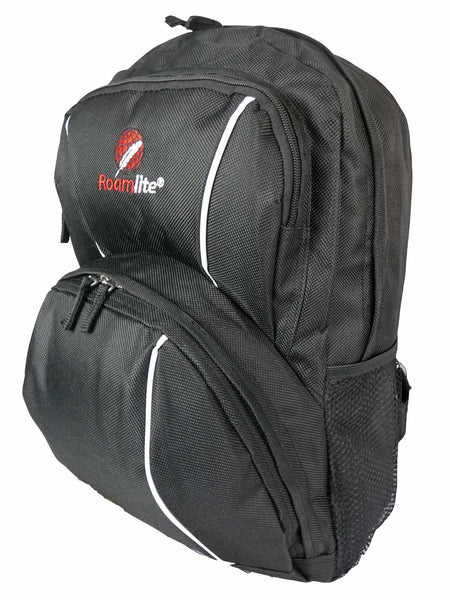 Kids School Backpack Bag RL28 Black Side View