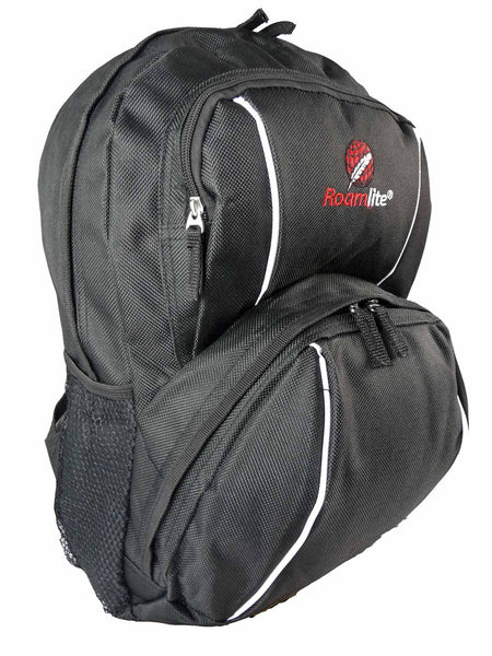 Kids School Backpack Bag RL28 Black R Side View