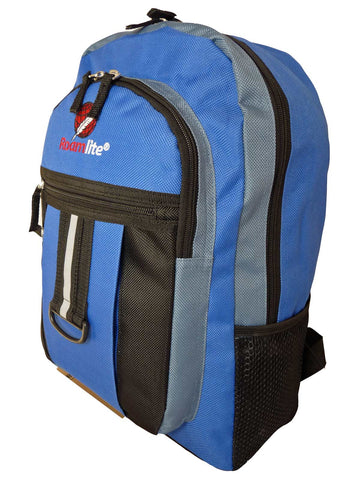 56bbafecbe07 School Backpack RL32 Light Blue Side View School Backpack RL32 Light Blue  Side View. School A4 Size Backpack Rucksack Bag ...