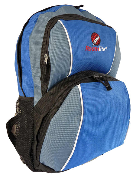Kids School Backpack Bag RL28 Light Blue R Side View