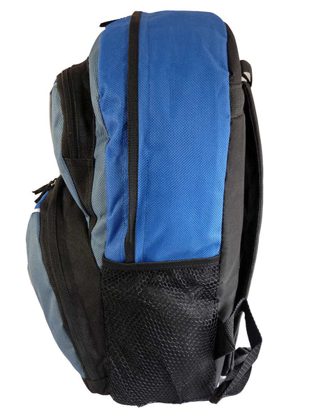 Kids School Backpack Bag RL28 Light Blue S Side View