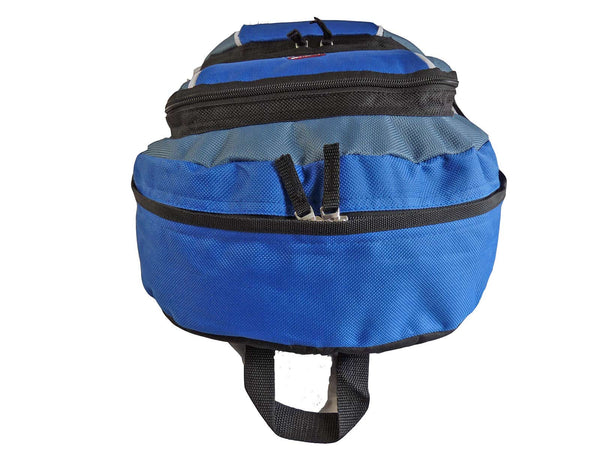 Kids School Backpack Bag RL28 Light Blue Top View