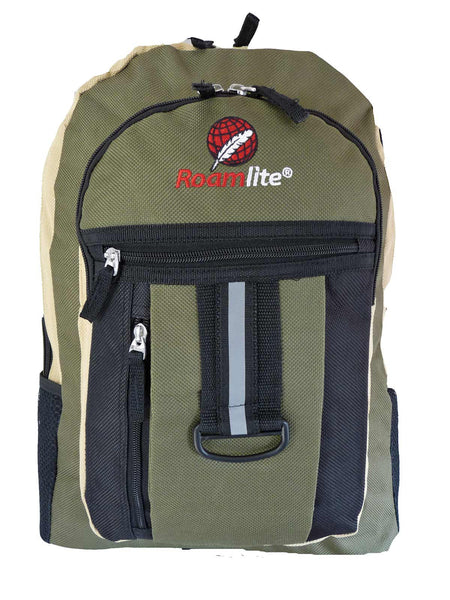 School Backpack RL32 Green Front View