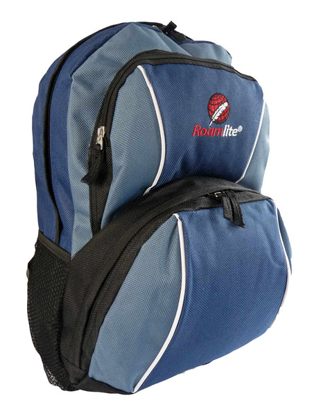 Kids School Backpack Bag RL28 Dark Blue R Side View